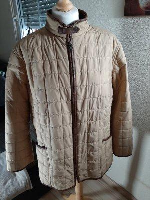 Bogner Quilted Jacket camel-brown polyester