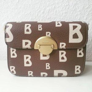 Bogner Luxus Handtasche beige cognac neu
