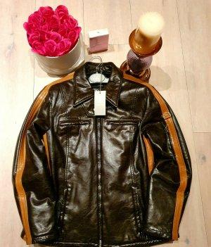 Bogner Luxus Jacke Damen Adler Gr.40 ML Echte Leder