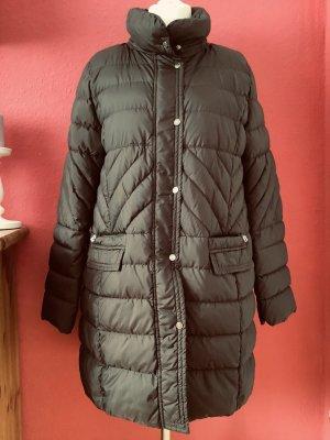 Bogner Manteau en duvet brun foncé tissu mixte