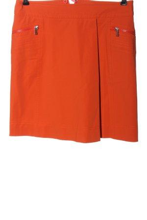 Bogner Mini rok licht Oranje casual uitstraling