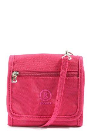 Bogner Minitasche pink Schriftzug gestickt Casual-Look