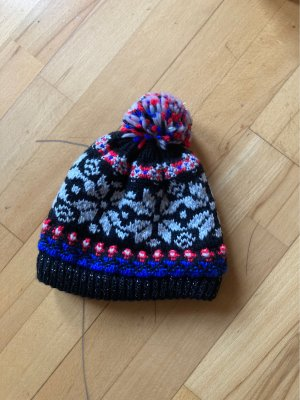 Bogner Fire + Ice Bobble Hat multicolored wool