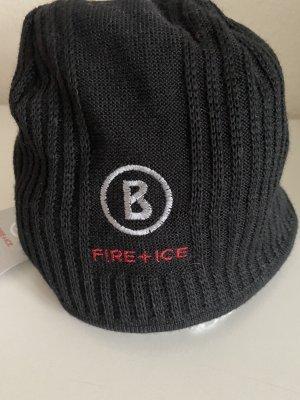 Bogner Sombrero de punto negro Lana