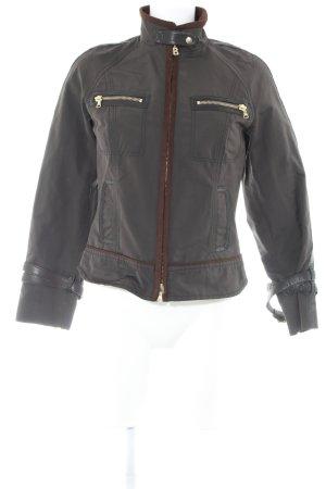 Bogner Outdoorjacke schwarzbraun-braun klassischer Stil
