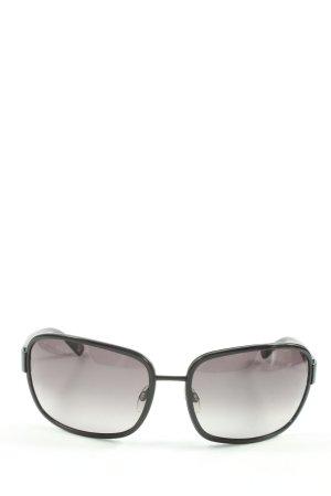 Bogner Oval Sunglasses black casual look