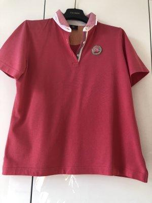 Bogner Camiseta tipo polo rojo frambuesa-magenta