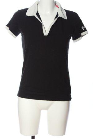 Bogner Polo-Shirt schwarz Casual-Look