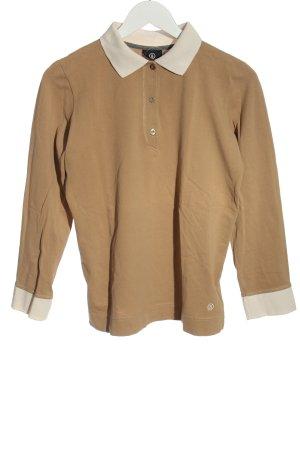 Bogner Koszulka polo brązowy W stylu casual