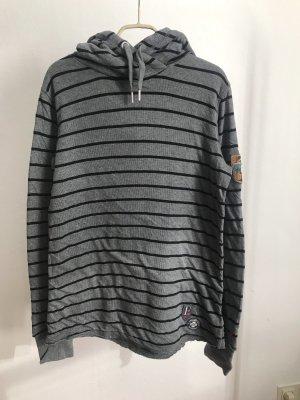 Bogner Fire + Ice Capuchon sweater zwart-grijs