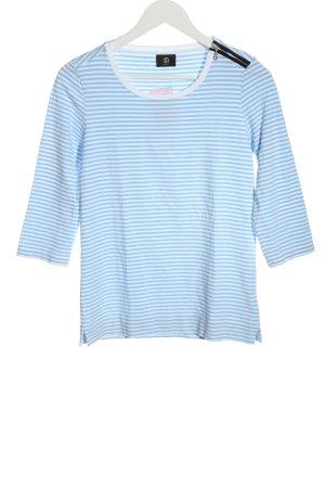 Bogner Koszulka w paski niebieski Wzór w paski W stylu casual