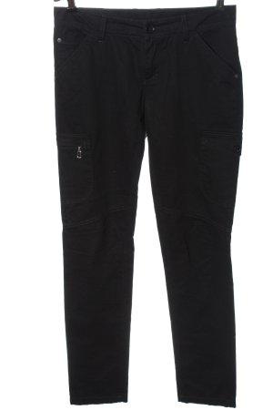 Bogner Drainpipe Trousers black casual look