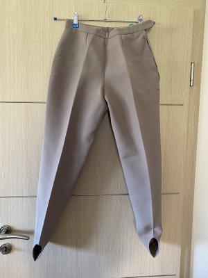 Bogner Pantalón con estribo marrón grisáceo