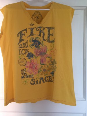 Bogner Shirt gelb bunt