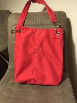 Bogner Shopper in trendfarbe rot
