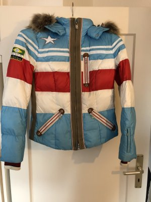 Bogner Skijacke Gr. 36 Bunt