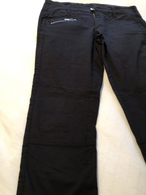 Bogner Jeansy o obcisłym kroju czarny Tkanina z mieszanych włókien