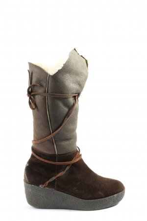Bogner Botas slouch marrón look casual