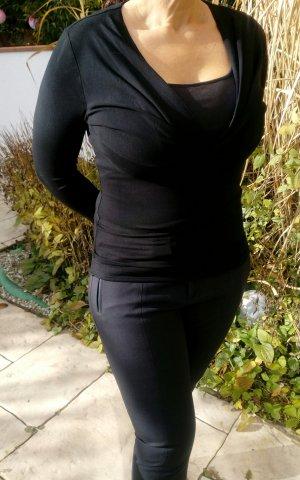 Sônia Bogner T-shirt col en V noir