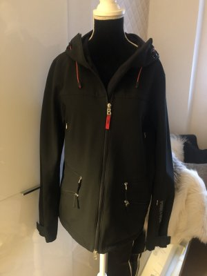 Bogner Fire + Ice Long Jacket black mixture fibre