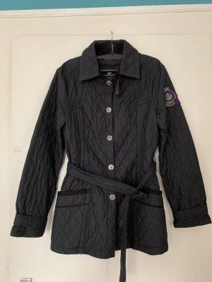Bogner Jeans Quilted Jacket dark blue-dark violet