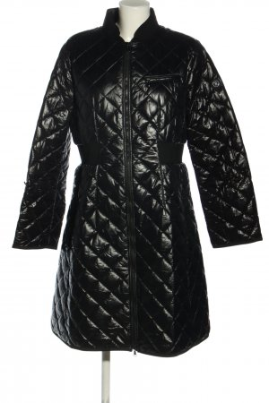Bogner Quilted Coat black quilting pattern casual look