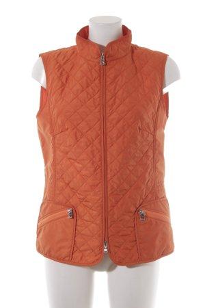 Bogner Steppweste orange Steppmuster Casual-Look