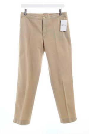 Bogner Stoffhose beige Business-Look