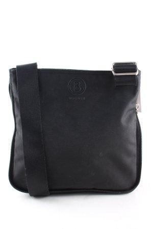 Bogner Stoffen tas zwart casual uitstraling