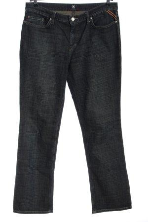 Bogner Jeans a gamba dritta blu stile casual