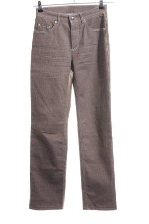 Bogner Straight-Leg Jeans bronzefarben Casual-Look