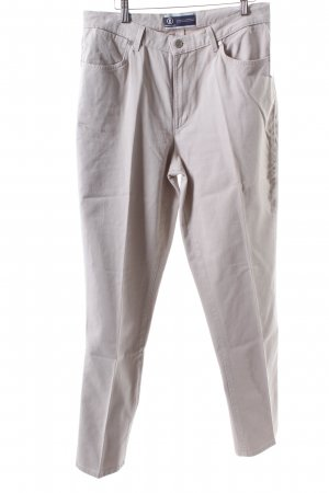Bogner Jeansy z prostymi nogawkami jasnobeżowy Aplikacja z logo