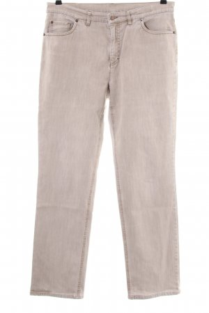 Bogner Stretch Jeans wollweiß meliert Casual-Look