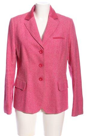 Bogner Strickblazer pink Business-Look
