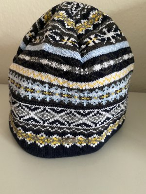 Bogner Knitted Hat multicolored cotton