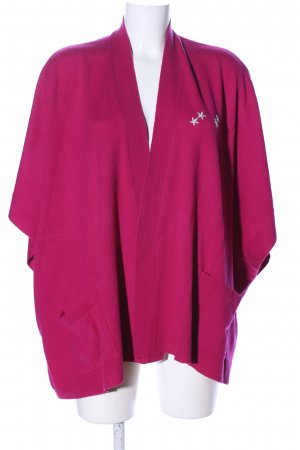 Bogner Knitted Poncho pink casual look