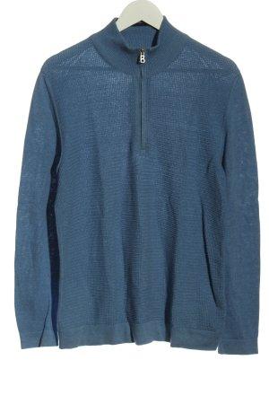 Bogner Gebreide trui blauw casual uitstraling