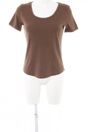 Bogner T-shirts en mailles tricotées brun style décontracté
