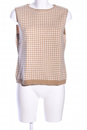 Bogner Knitted Top nude-natural white allover print casual look