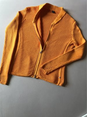 BOGNER Strickweste in orange