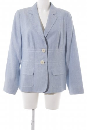 Bogner Sweatblazer himmelblau meliert Business-Look