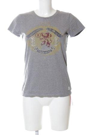 Bogner T-Shirt hellgrau meliert Casual-Look