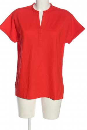 Bogner T-Shirt rot Allover-Druck Casual-Look