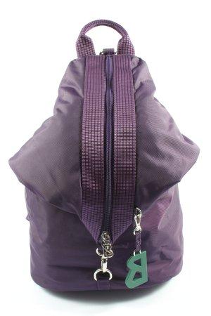 Bogner Plecak fiolet W stylu casual
