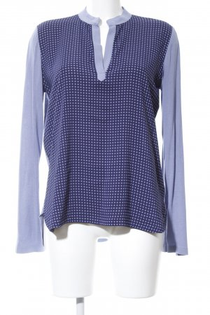 Bogner Tunikabluse blau grafisches Muster Casual-Look