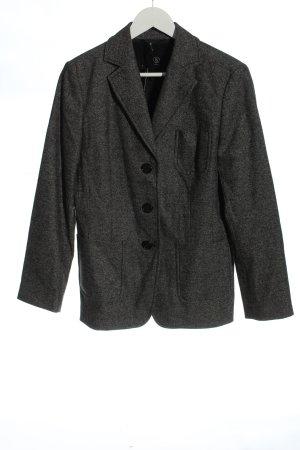 Bogner Wollen blazer lichtgrijs gestippeld zakelijke stijl
