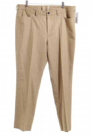 Bogner Wollhose beige-hellbraun Business-Look