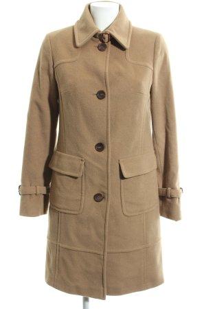 Bogner Manteau en laine blanc cassé style décontracté