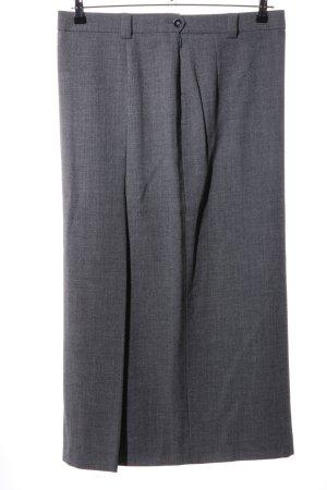 Bogner Wollen rok lichtgrijs gestippeld zakelijke stijl