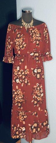 ANTHOLOGY Midi-jurk veelkleurig